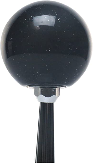 American Shifter 327592 Blue Built Not Bought Simple Orange Metal Flake Shift Knob with M16 x 1.5 Insert
