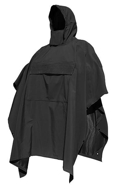 a37ca4616 Hazard 4 Poncho Villa Technical Soft Shell Poncho, Black, Clothing ...