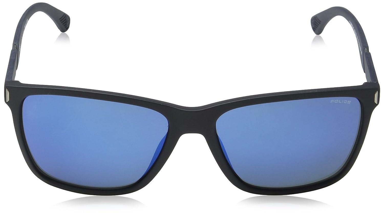 Police Speed 10 Gafas de sol, Azul (Rubberized Full Blue ...