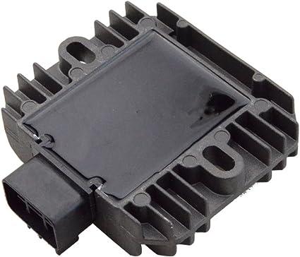 Z800 S GOOFIT R/égulateur Rectifieur de voltage pour Kawasaki Ninja 250//300//650 Z750 1000 ZX1000 GA VTT Scooter Mobylette Motors