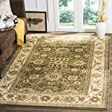 Safavieh Lyndhurst Collection LNH212C Traditional Oriental Sage and Ivory Area Rug (6′ x 9′) For Sale