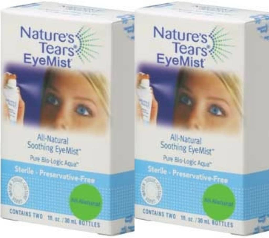 Bio-Logic Aqua Natures Tears EyeMist Quadpack - Dry Eye Solution
