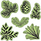 Inkadinkado Stamping Gear Cling Stamps, Pinecones and Evergreen