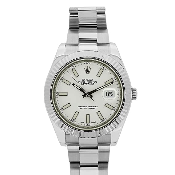 Rolex Datejust II swiss-automatic Mens Reloj 116334 WSO (Certificado) de segunda mano: Rolex: Amazon.es: Relojes