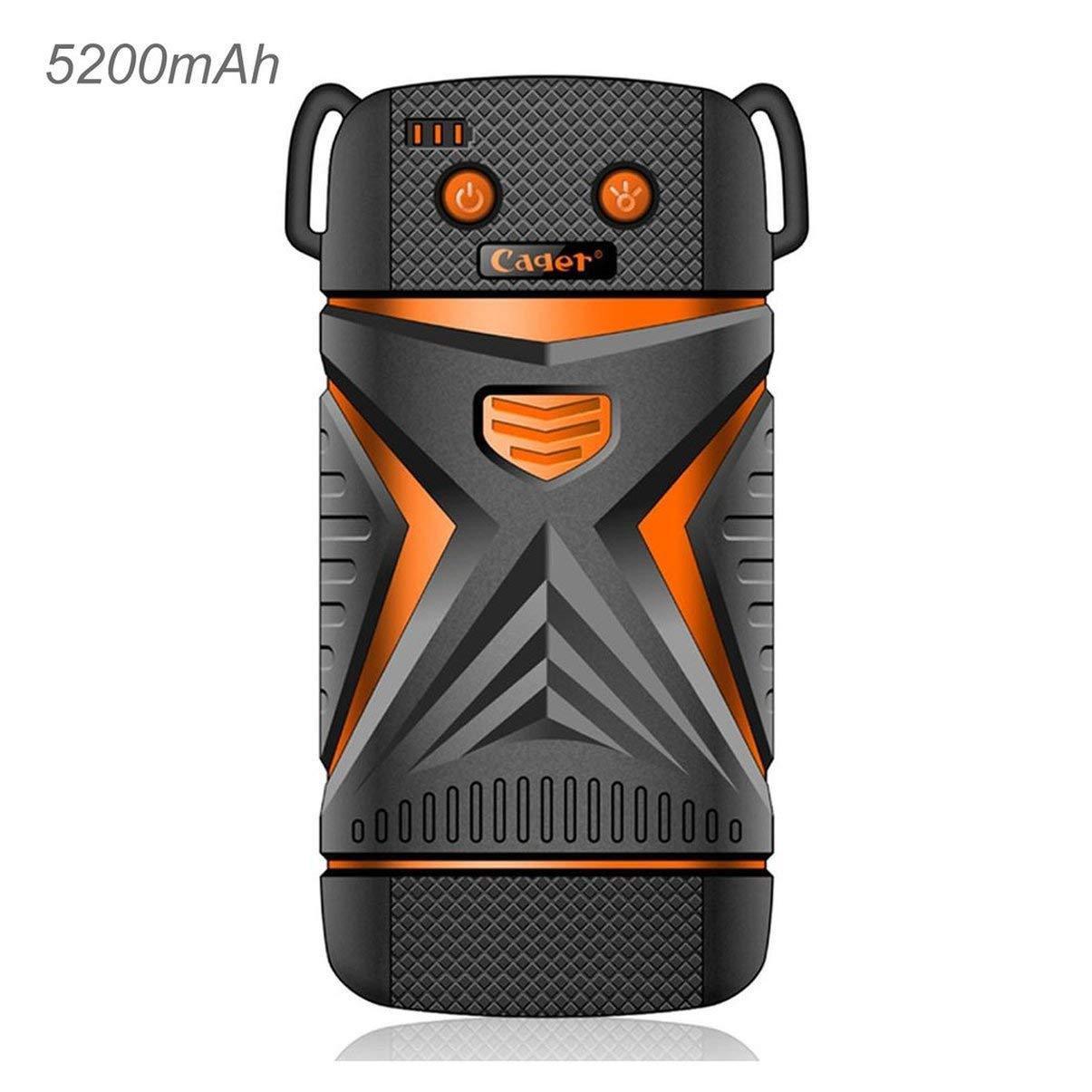 WP11 Portable Power Bank Dustproof IP67 Waterproof Shockproof 5200mAh Capacity JullyCAnnice