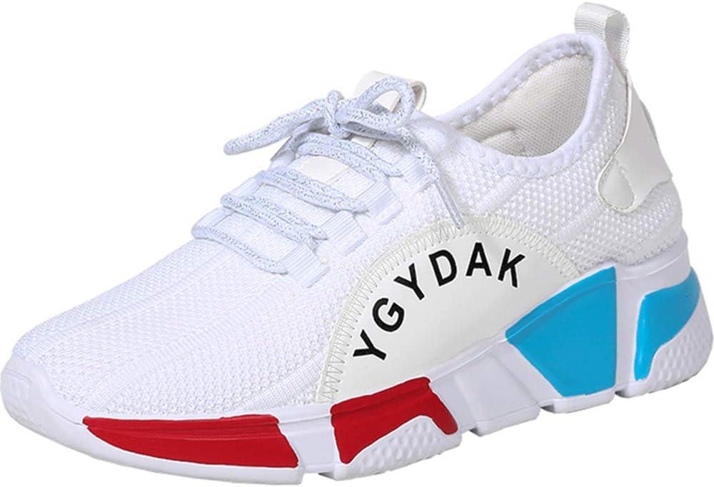 AXDNH Zapatillas De Running Ghost para Mujer, Fly Mesh Transpirable Zapato De Baile Resistente A La Abrasión Suela Blanda De PU Zapatillas Deportivas Zapatos Aeróbicos,Blanco,EU37: Amazon.es: Hogar