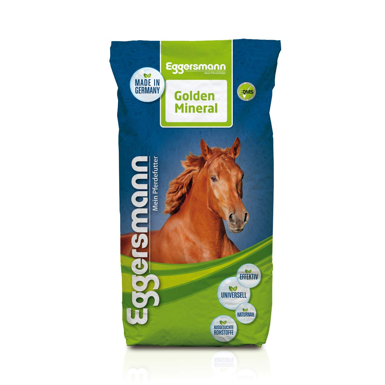1x Pack Eggersmann golden Mineral for Horses 55lbs