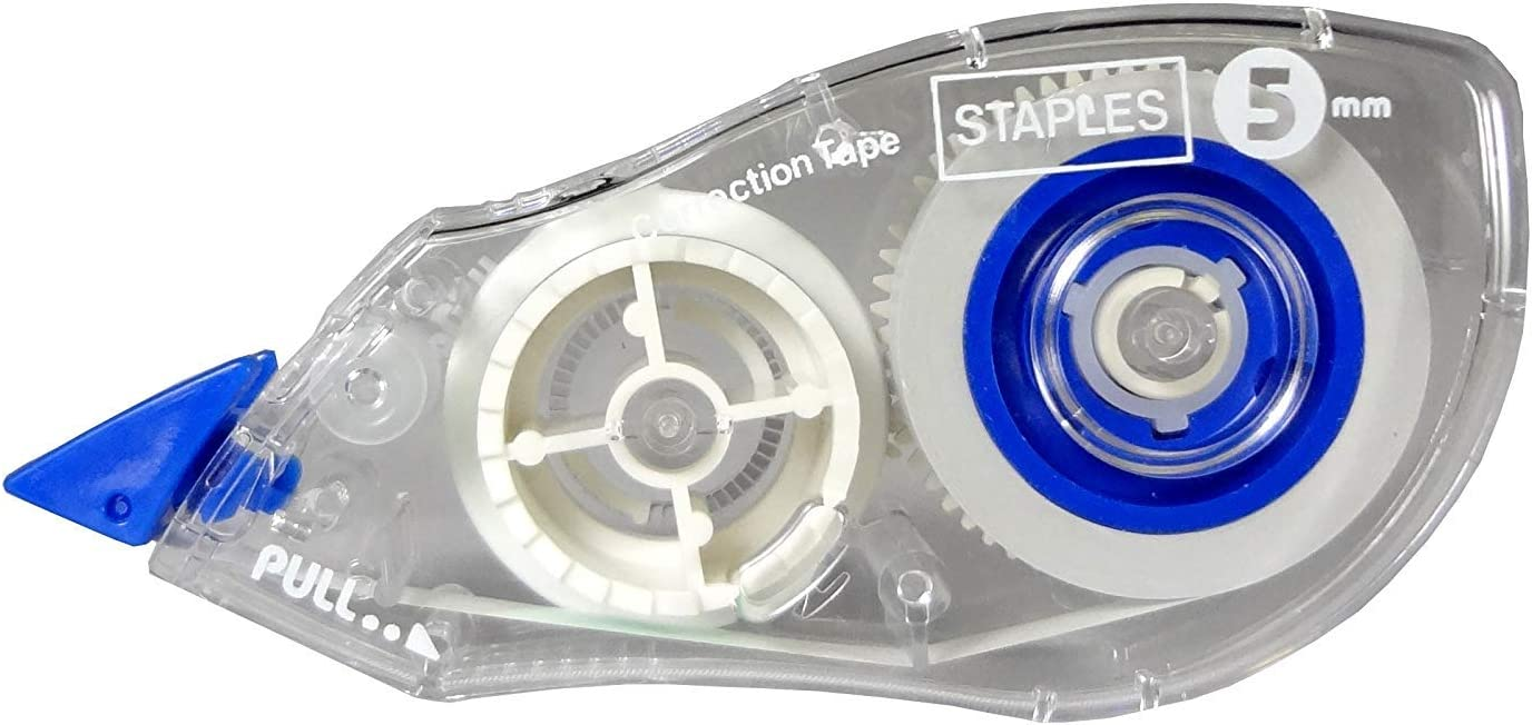 Staples Correction Tape, 10/Pack: Office Products