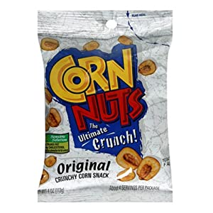 Corn Nuts Original Snack Mix (4oz Bags, Pack of 12)