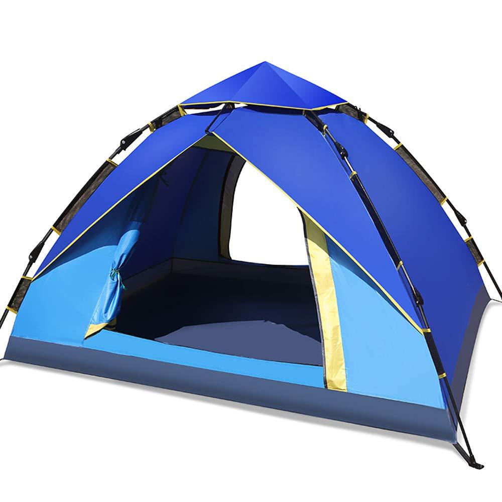 WFTENT Automatisches Zelt im Freien 3-4 Leute-Campingzelt-Freie Installations-Freizeit-Reise-Reise-kletterndes Campingzelt