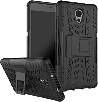 Lenovo vibe P2 Funda, [Heavy Duty] Híbrida Rugged Armor Case ...