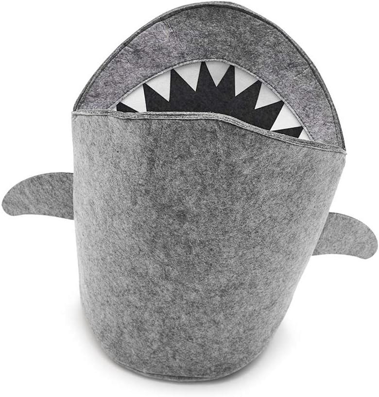 Ruiting Tibur/ón Dise/ño Cesta de Almacenamiento S Inicio Plegable Cesta de lavadero Cesta Juguete Cubo de Almacenamiento de tibur/ón lavander/ía Bin