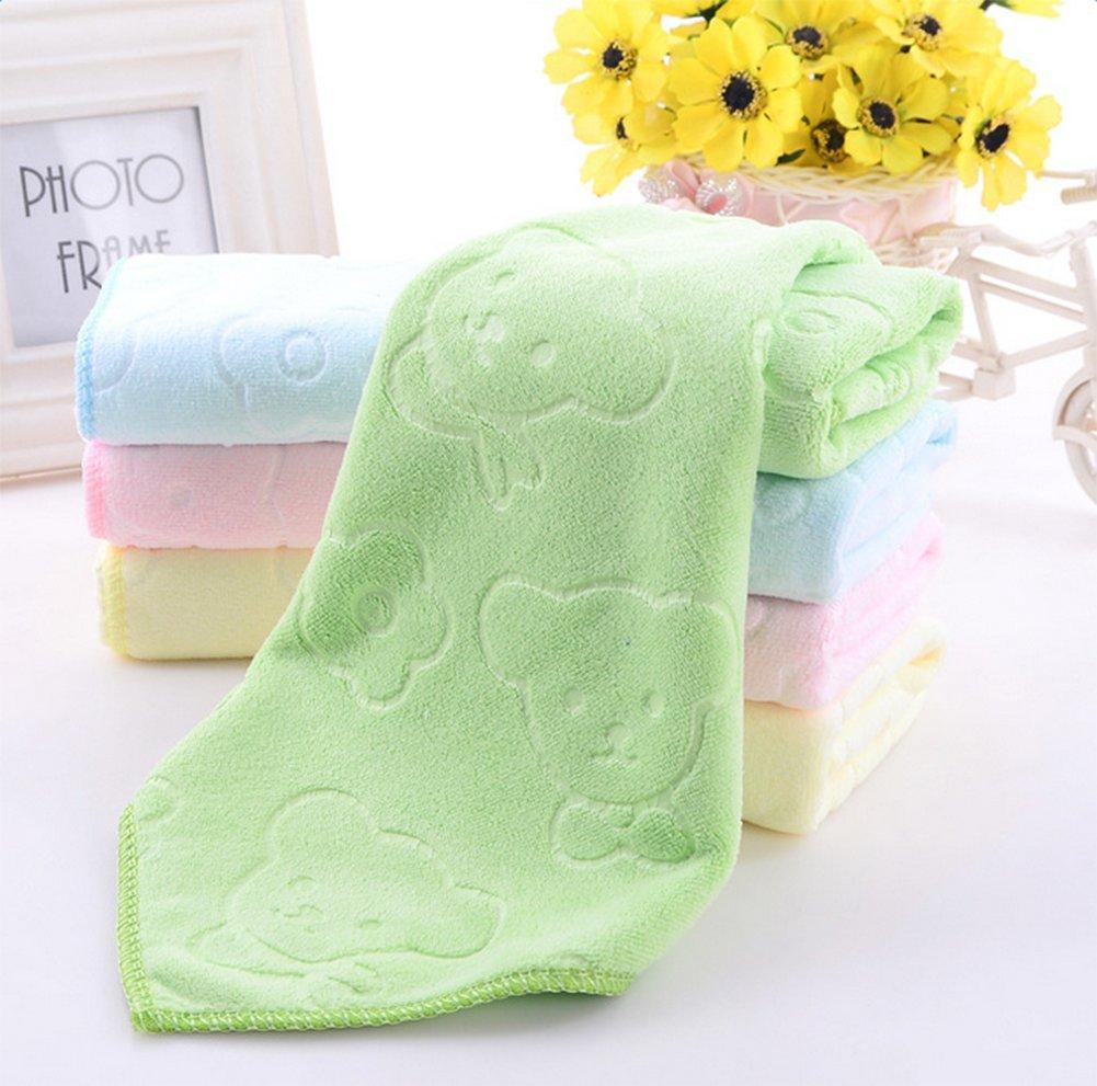 Wa 2X Toallas Limpias Textiles de Baño Toallas de Mano Toallas de Baño Toallas Faciales Peluquería Salón de Belleza Toalla Lavadora Toalla de Playa Toalla ...