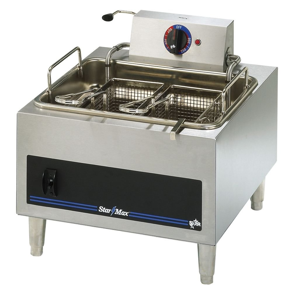 Star Mfg. Star-Max 15 lb Electric Fryer w/ Two Baskets