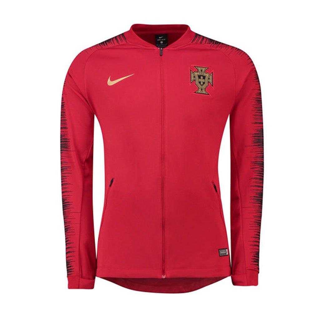 Nike Fpf Y Nk Anthm Fb Jkt - gym ROT schwarz