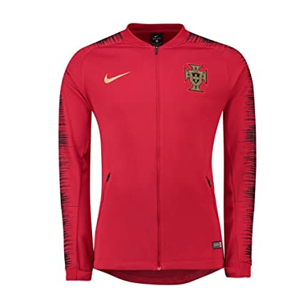 design de qualité ba403 91dbf Amazon.com : Nike 2018-2019 Portugal Anthem Jacket (Red ...