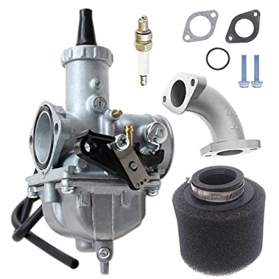 Motorcycle VM26 30mm Carb Carburetor with Air Filter For PZ30 200cc 250cc Mikuni Honda Hawk Go-kart Taotao SunL JCL JetMoto Kazuma Baja Quad ATV Dirt CRF KLX TTR XR Pit Dirt Bike Motocross: Automotive