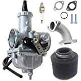Motorcycle VM26 30mm Carb Carburetor with Air Filter For PZ30 200cc 250cc Mikuni Honda Hawk Go-kart Taotao SunL JCL…