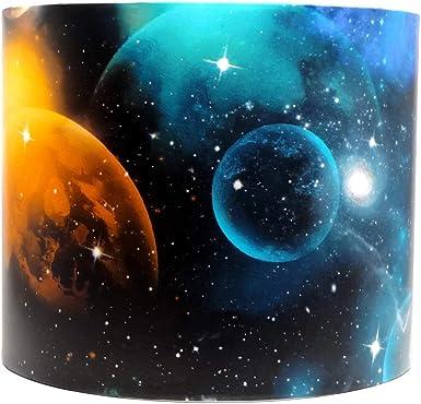 Espace-Abat-Jour Plafonnier Abat-jour Galaxie Planète Nébuleuse Garçons Filles Chambre à coucher