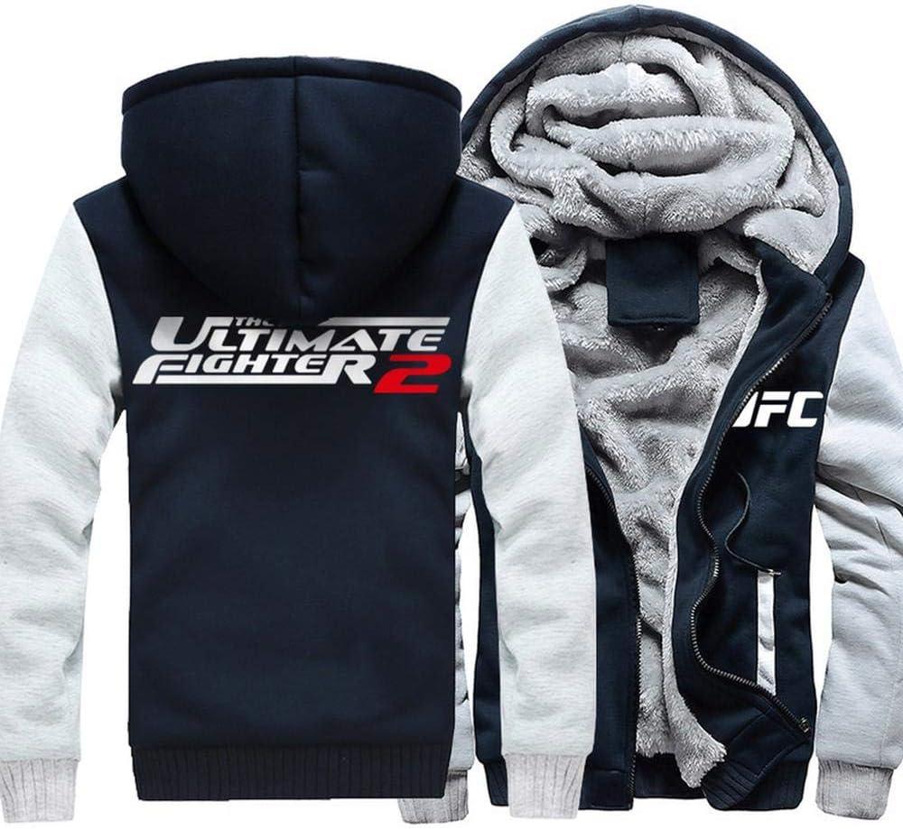 ENTHUSIAST Unisex con Capucha De La Chaqueta del Suéter De UFC ...
