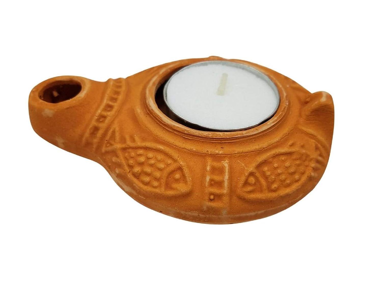Jesus time lamp replica Oil Lamp Pottery from Jerusalem