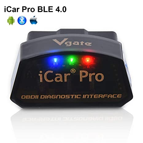 LZLRUN Vgate iCar Pro Bluetooth 4 0 OBD2 Scanner for BMW Android/iOS Car  Diagnostic Tool ELM327 V2 1 Scanner (Bluetooth 4 0 for iPhone ipad and