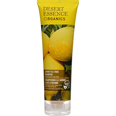 Amazon.com: Desert Essence Shampoo Lemon Tea Tree - 11 fl oz ...