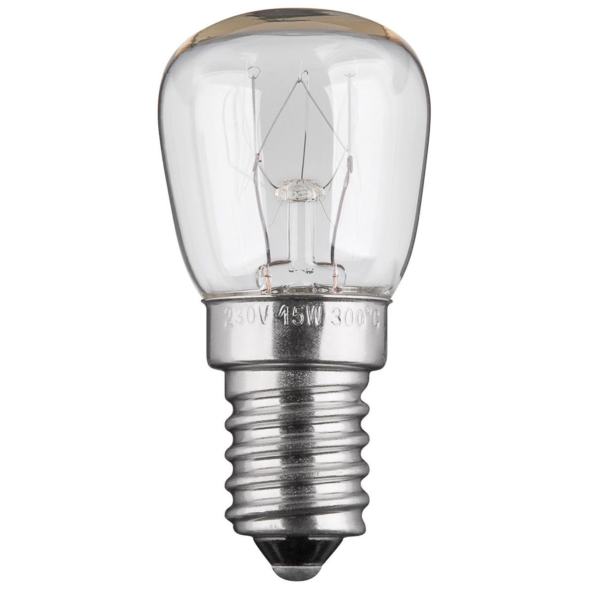 10 Stück 15W Backofenlampe Glühbirne Glühlampe Backofen E14, 230V, Backofenglühbirne Backofenglühbirne PerfectHD
