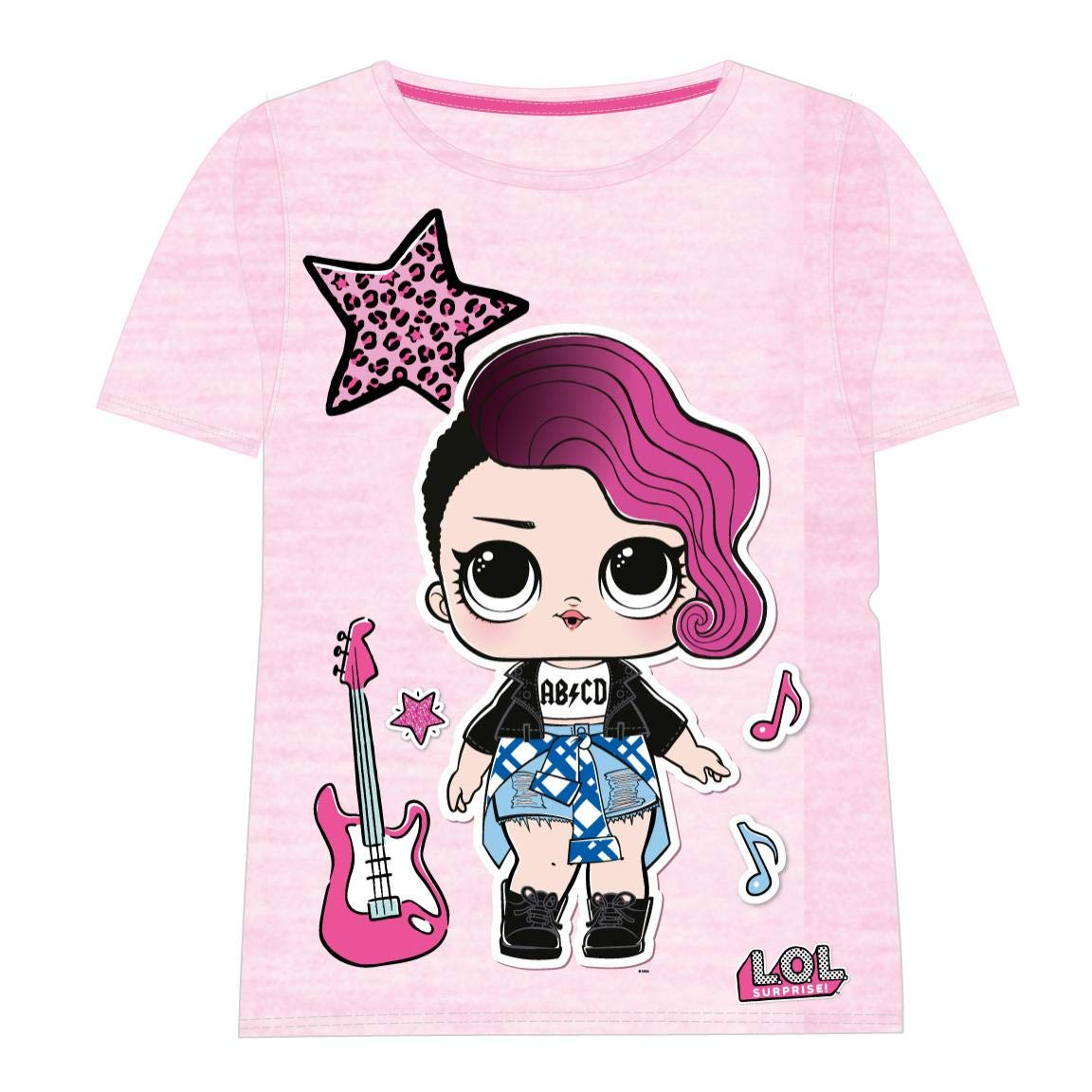 T-Shirt Bambina Cerd/á Camiseta Manga Corta LOL