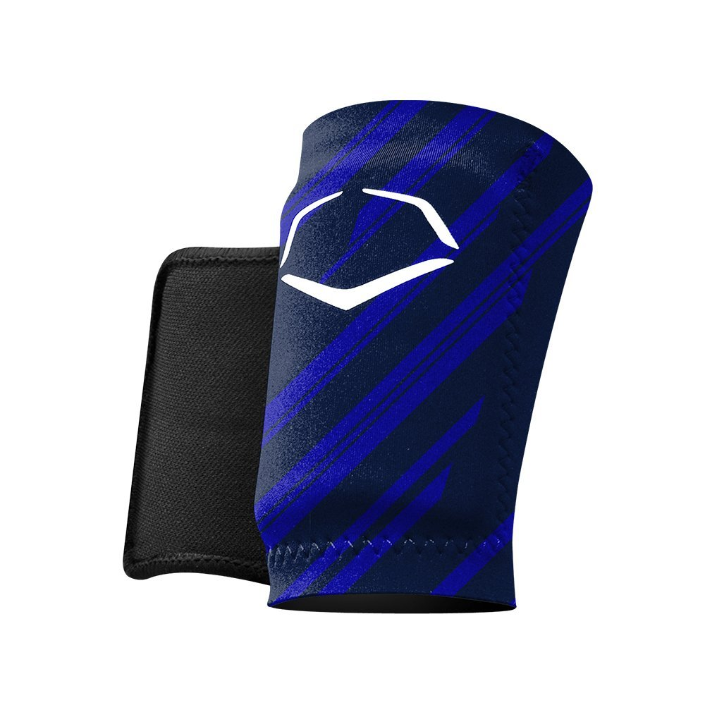 EvoShield MLB Protective Speed Stripe Wrist Guard, Navy, Medium by EvoShield