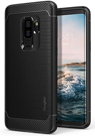 Ringke Funda Galaxy S9 Plus, [Onyx] [Gran Resistencia] Protectora de TPU Duradera, Antideslizante y Flexible para Samsung Galaxy S9 Plus 2018 Case ...