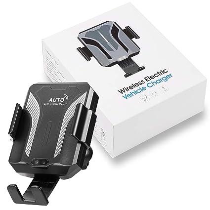 Amazon.com: NIECOR Cargador inalámbrico para coche, soporte ...