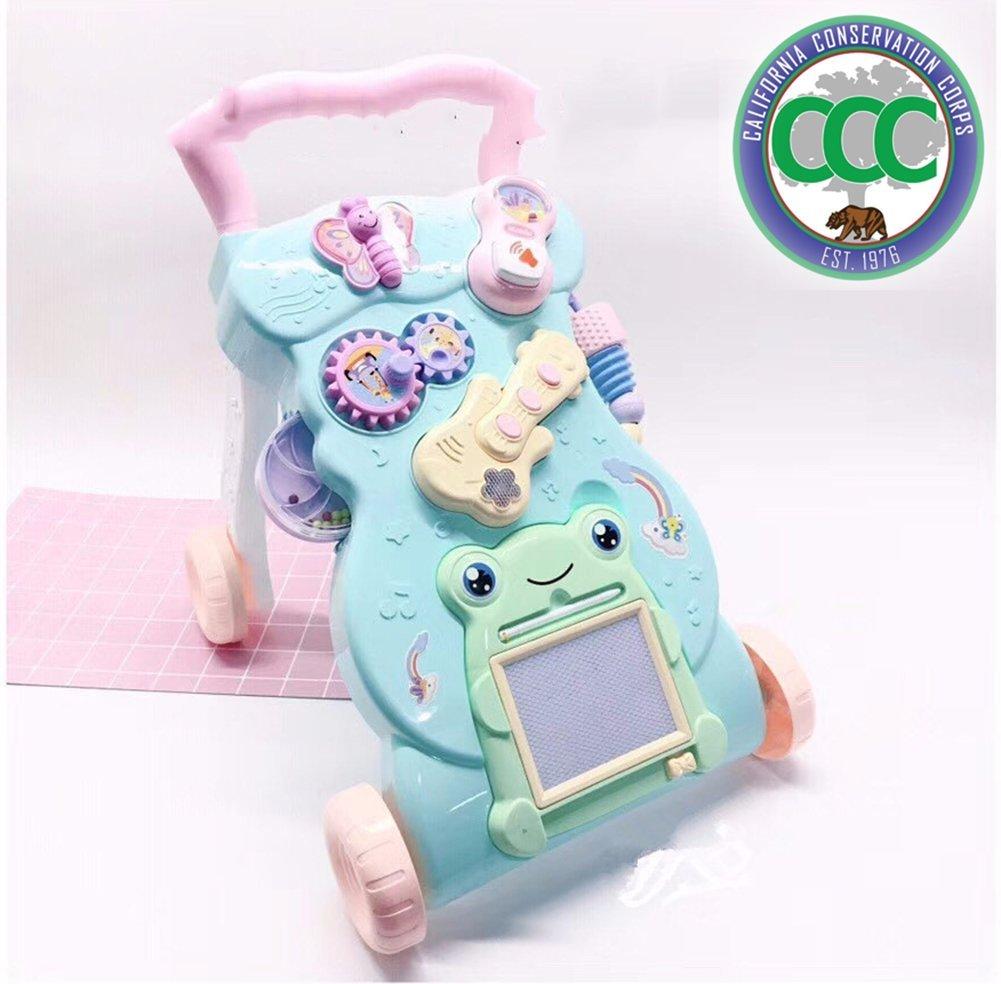 Bebés Hand Push Andador Bebés Educación Temprana Puzzle ...