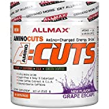 ALLMAX Nutrition AMINOCUTS ACUTS Weight-Loss BCAA CLA Taurine Green Coffee Grape Escape 210 g