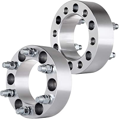 ECCPP 6x5.5 Wheel Spacers Adapters 2 inch 6x139.7 to 6x139.7 108mm CB Fits for Chevrolet K1500 K1500 Suburban Cadillac Chevy GMC Trucks SUV Van(14x1.5 Studs 2X): Automotive