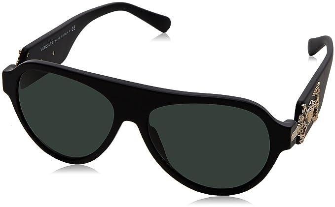 Amazon.com: Versace ve4323 507971 58 mm anteojos de sol ...