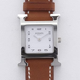 b712f11b8a Amazon | [エルメス]HERMES 腕時計 Hウォッチ 2018年4月 革ベルト HH1 ...
