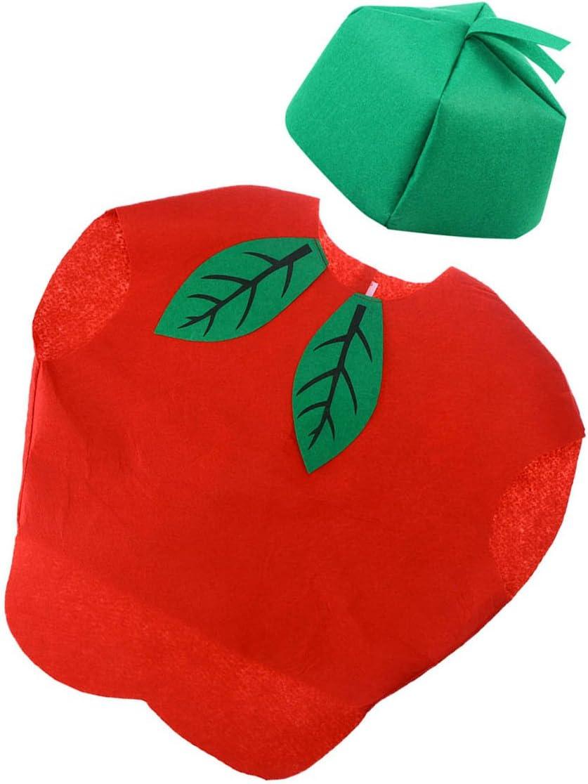 luoem disfraz con gorra de frutas manzana Niños y bebé para regalo ...