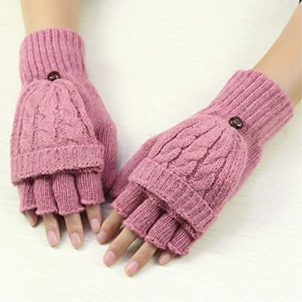 Open-Minded Knitkids Toddler Girls Winter Hand Warmers Clothing Accessory Texting Mittens Outerwear