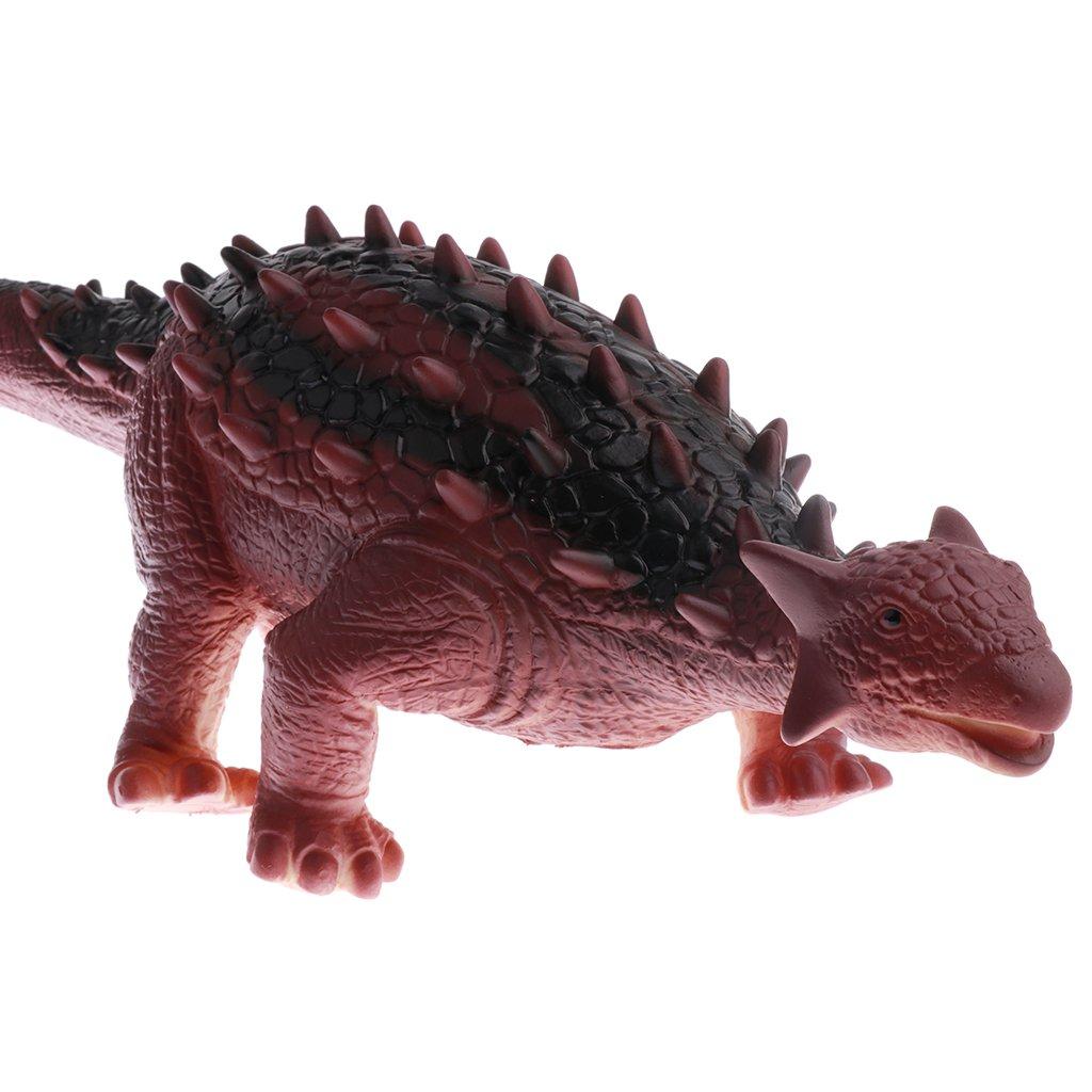 Anquilosaurio Fenteer Juguete de Modelo de Pl/ástico de Dinosaurios con Sonidos Regalos para Ni/ño