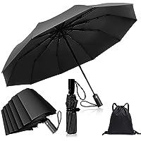 Sombrilla de Golf,Paraguas de viaje portátil automático a prueba de viento para hombres y mujeres,paraguas de viaje…