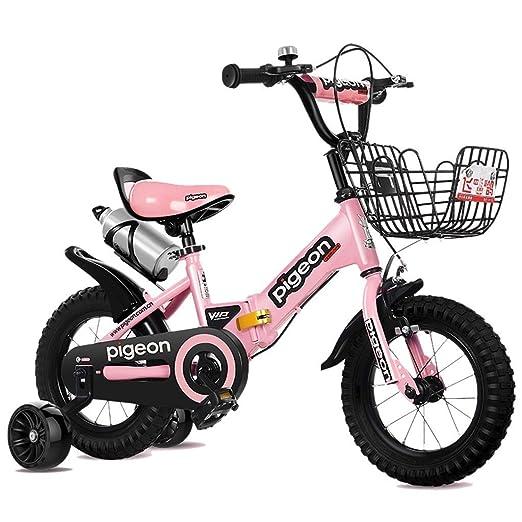 SGMYMX Bicicleta para niños Bicicletas para niños Plegables ...