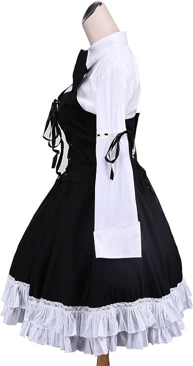 Antaina Corbata de Lazo de Encaje de algodón Negra Corbata de ...