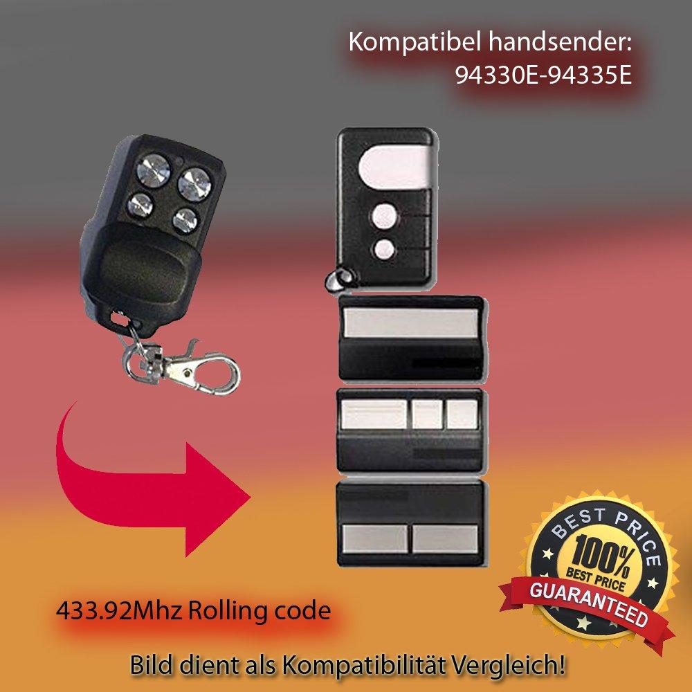 94330E,94332E,94333E,94335E,Kompatibel Handsender, Sender ersatz 433,92MHz Rolling Code. TOP Qualität Sender!!!