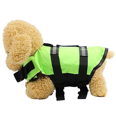 Salvavidas para Perros salvavidas para mascotas chaleco salvavidas para el Natación cachorro de perro disfraces de