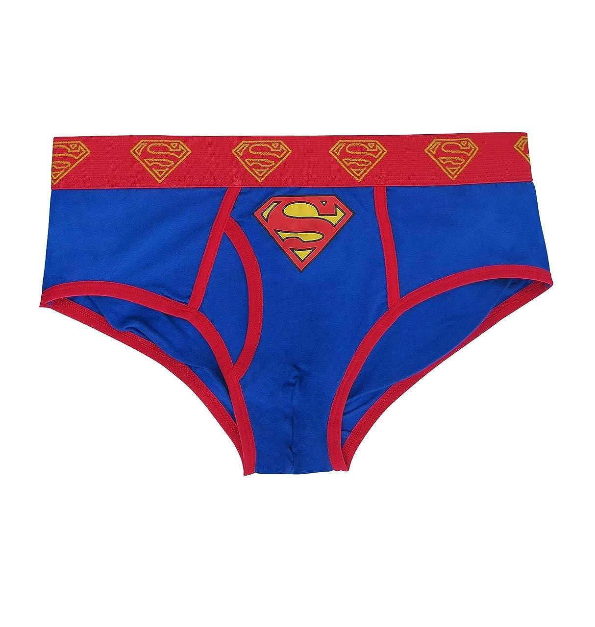 Superman Costume Logo Men's Underwear Briefs