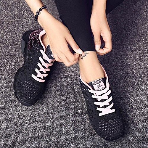 Cuscino Sneakers Bhydry Net Studente Running Volare Tessuto Rosa Air Scarpe g6qxw7Oqv