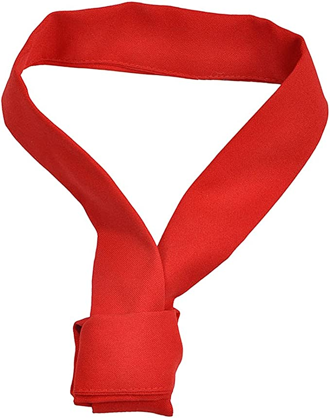 MagiDeal Tie Fazzoletto Sciarpa Cravatta Bow Asciugamano da Collo Parti Uniforme Chef Cuoco per Hotel Cotone