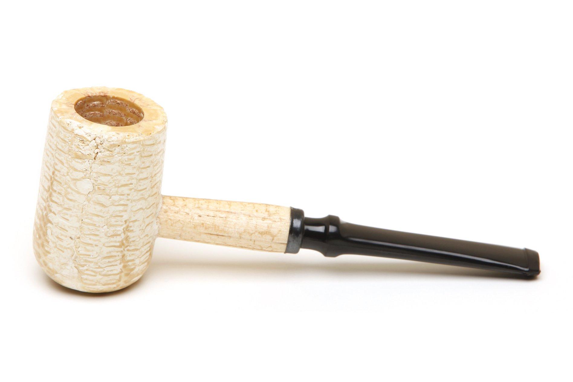 Missouri Meerschaum - Diplomat Corn Cob Tabacco Pipe - 5th Avenue, Straight Bit
