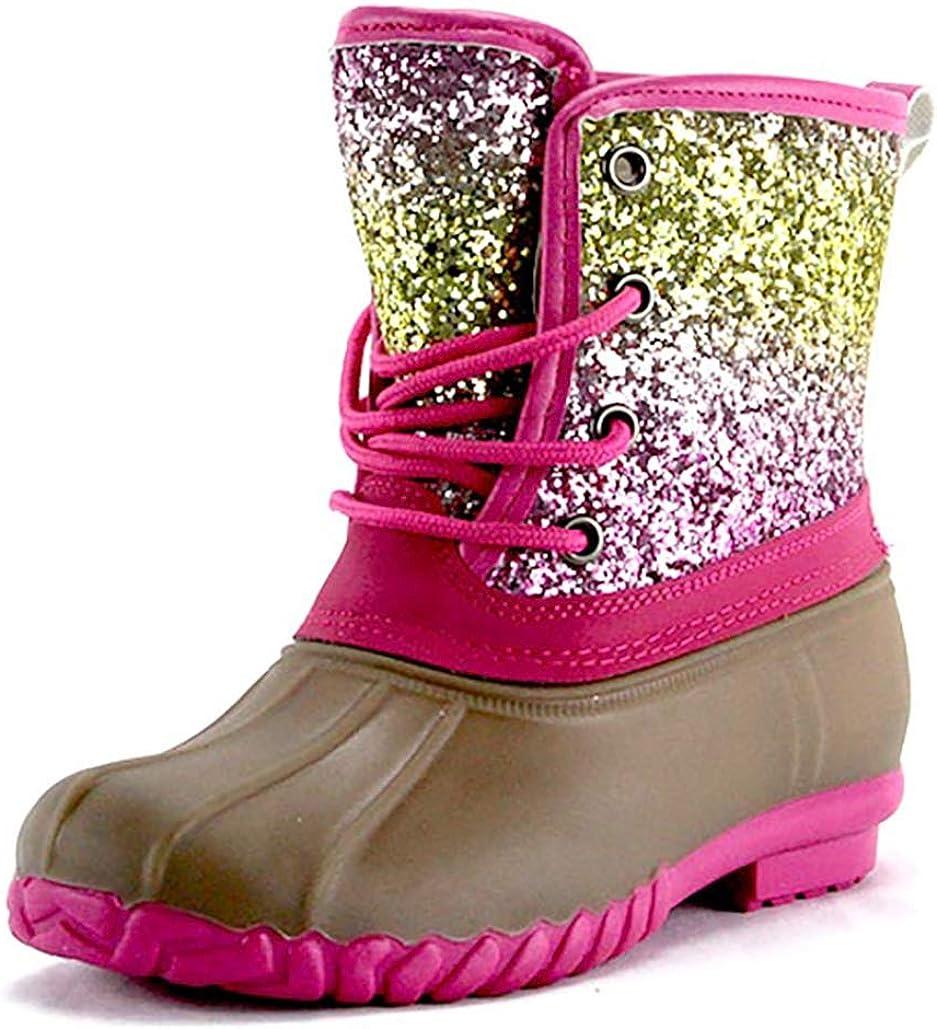 glitter rainbow boots